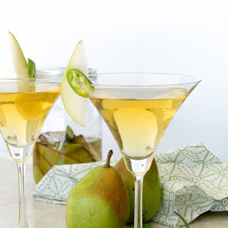 Spicy Pear Martini.