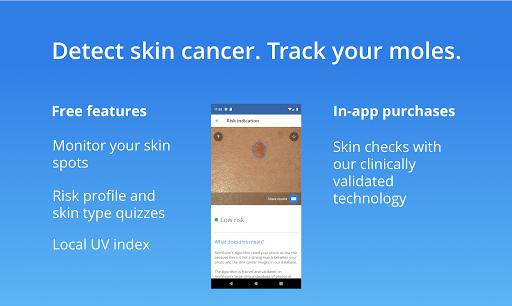 SkinVision screenshot 1