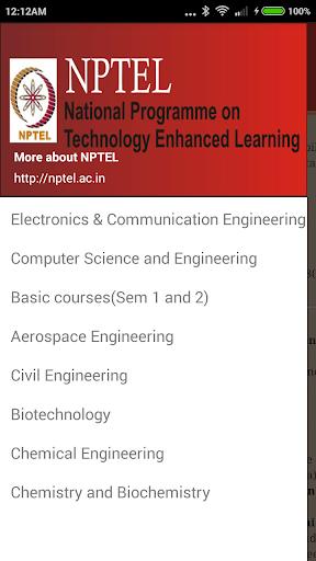 NPTEL- Course Engineering