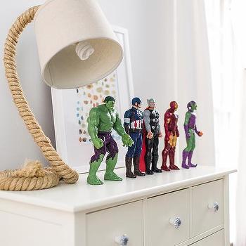 White Kids Dresser Design Ideas