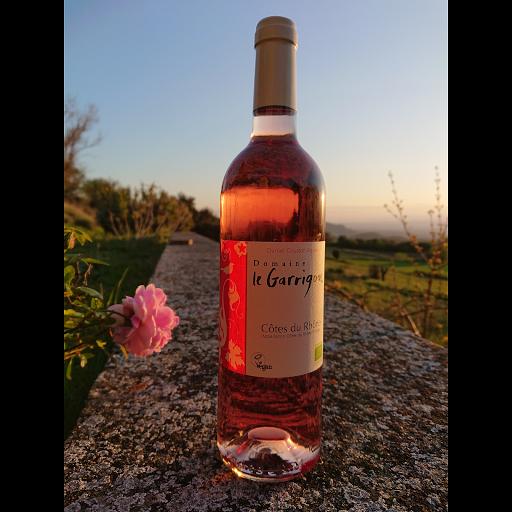 le rosé Côtes du rhône 2019