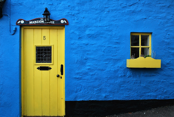 Yellow and blue di cla65