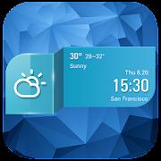 Rainy day weather app .