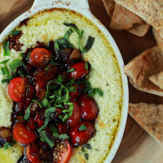 Creamy Baked Goat Cheese Dip