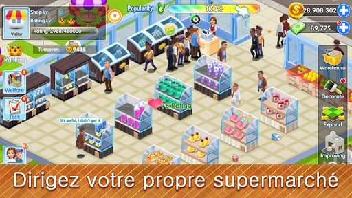 Télécharger My Supermarket Story: Simulez un magnat de magasin APK MOD (Astuce) screenshots 2