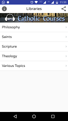 Audio Catholic Courses - screenshot