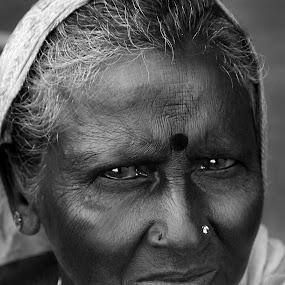 I am angry by Prithiviraj Kiridarane - People Portraits of Women ( b/w, women )