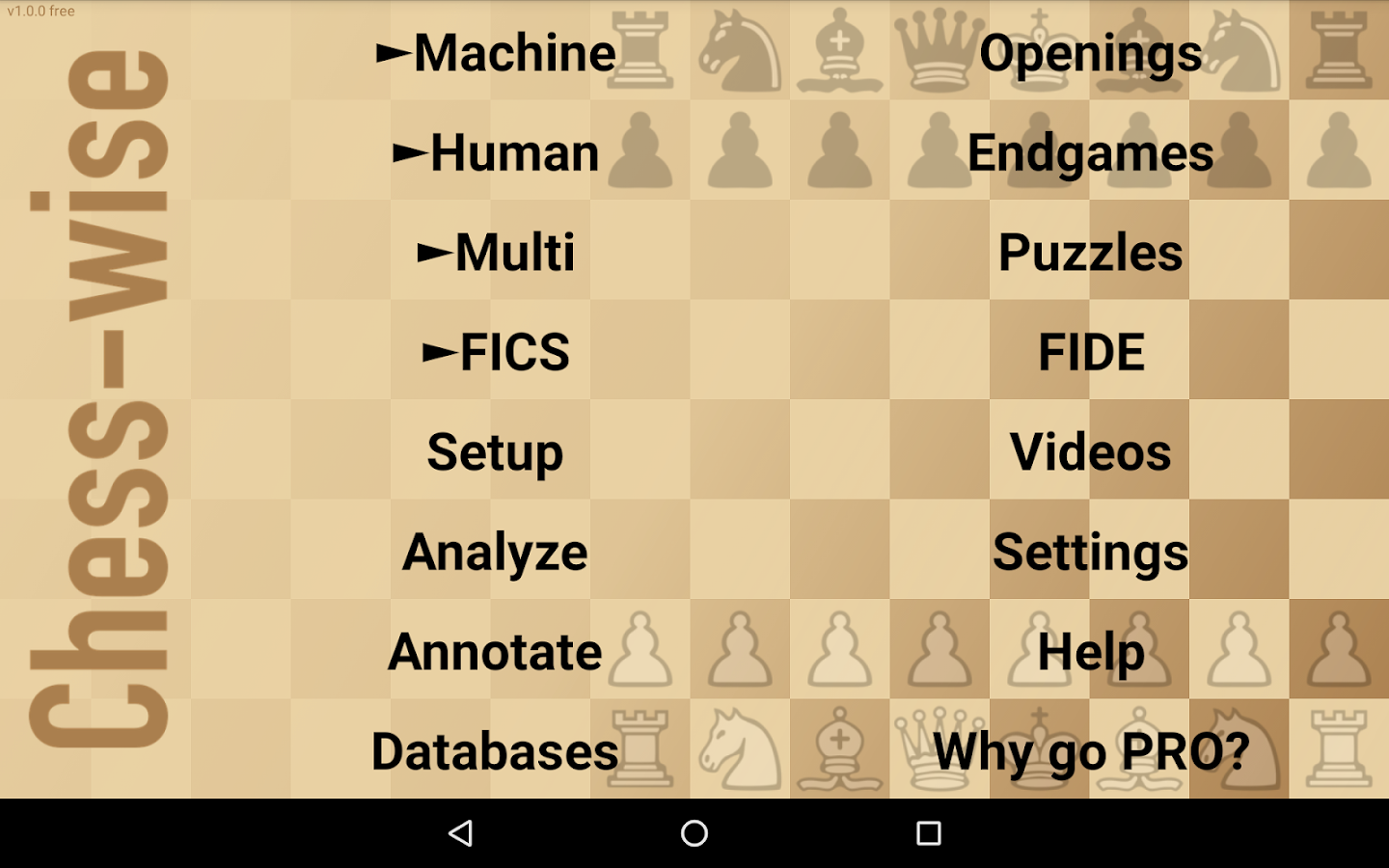 Chess-wise — play online chess- screenshot