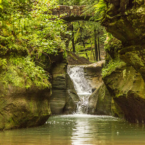 Ohio waterfall by Donna Sparks - Landscapes Waterscapes (  )