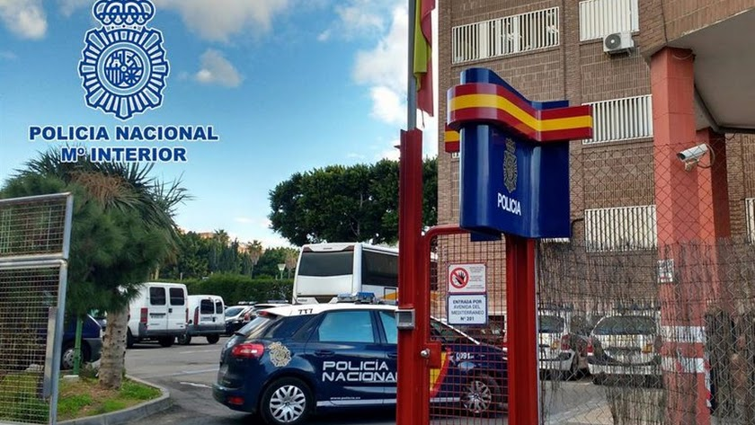 Comisaría de la Policía Nacional en Almería.