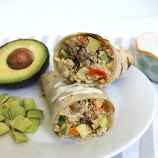 Slow Cooker Breakfast Burritos.
