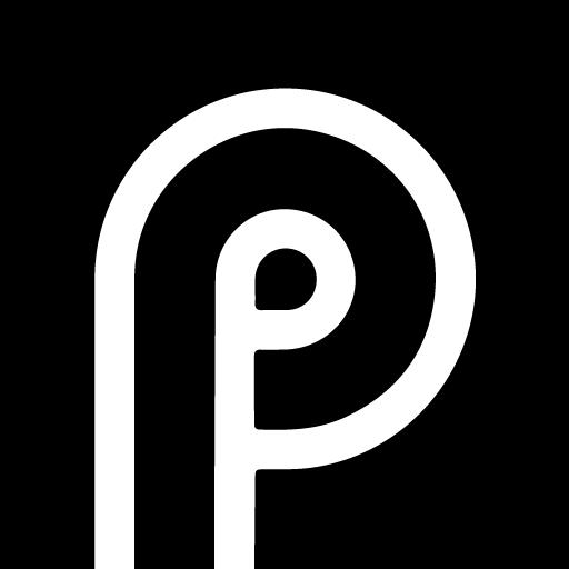 Square Pixel Dark Black AMOLED UI - Icon Pack