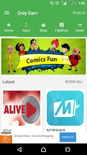 Earn Free Recharge & Talktime- screenshot thumbnail