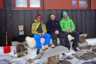 Photo: Framme på Hemsedalsfjellet etter 100 km.