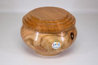 Photo: Joe Barnard Beads of Courage box [pine, cherry, paint]