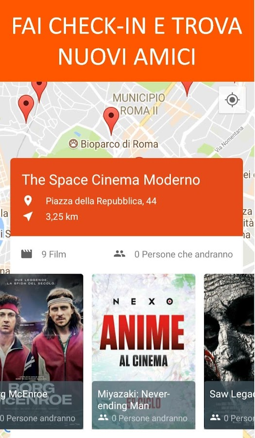 CinemApp Cinema- screenshot