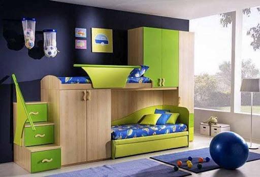 子供の寝室の設計