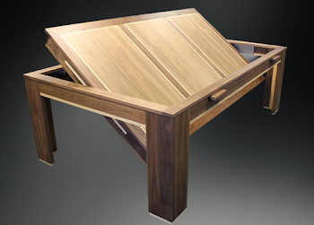 Spartan Dining Table Rollover Concept