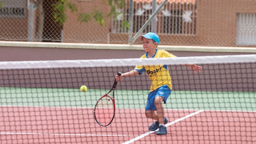 Uno de los canteranos del tenis almeriense.