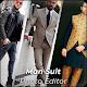 Men suit photo editor 2020 - Men suits design app Download on Windows