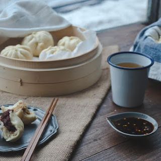 Plain Steamed Buns (Mantou).