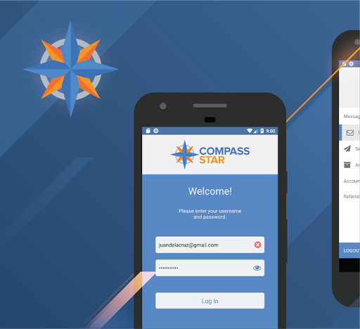 Compass Star screenshot 1