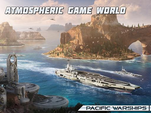 Pacific Warships: World of Naval PvP Warfare apktram screenshots 18