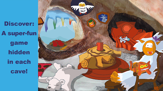 Yeti - education game box for kids - náhled