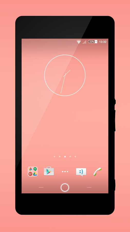 iPink Theme- screenshot