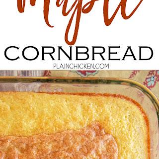 Cornbread No Baking Powder Recipes