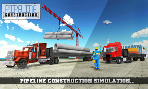 City Pipeline Construction: Plumber work 1.0 screenshots 1