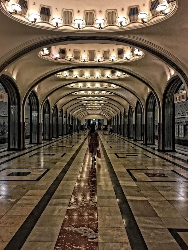 Metro moscovita di bondell