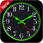 Analog Night Clock & Smart Live Wallpaper