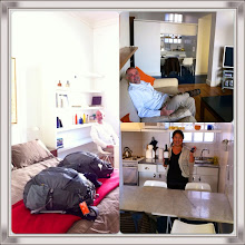 Photo: Collage.  Our apartment in Palermo Hollywood area in BA for 3 weeks!!