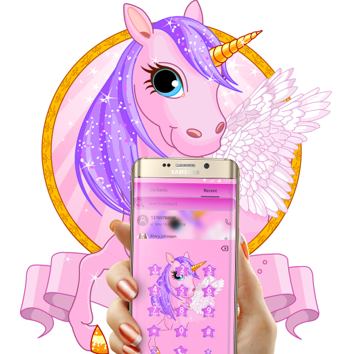 Beauty Pure Unicorn Theme Aplikace Na Google Play