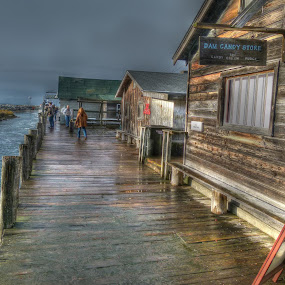 Fishtown, Leland, Michigan by James Rudick - Buildings & Architecture Other Exteriors ( michigan, harbor, hdr, leland, fishtown, waterfront,  )