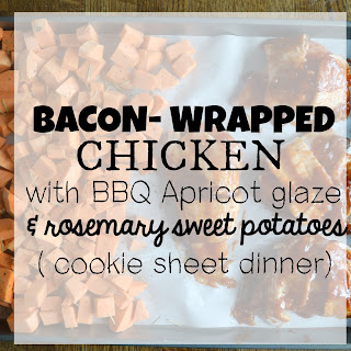 Bacon-Wrapped Chicken with Apricot BBQ Glaze