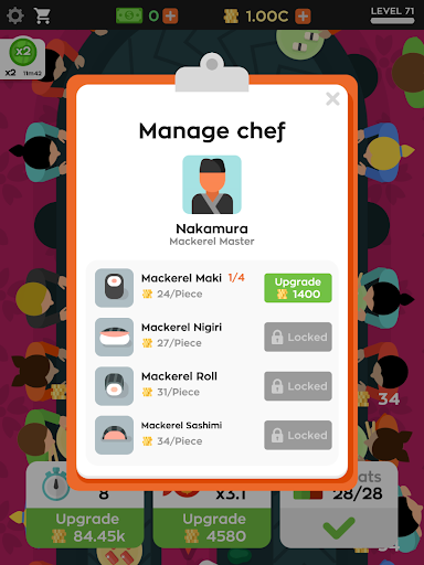 Sushi Bar Idle 2.6.3 Screenshots 7