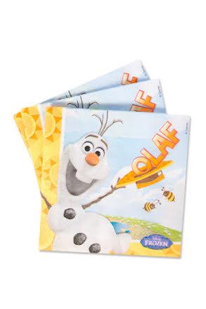Frost Olaf, servetter