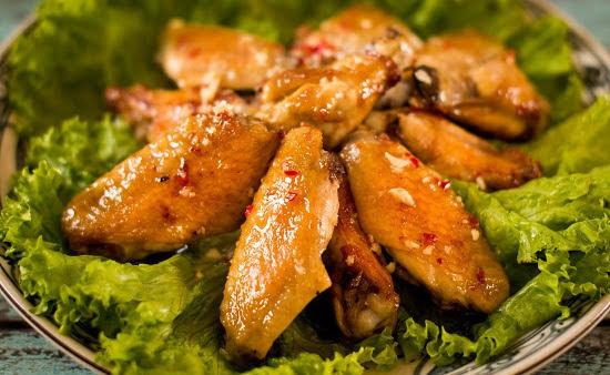 Cách làm cánh gà chiên mắm tỏi siêu ngon