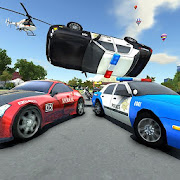 Police Car Drift Race
