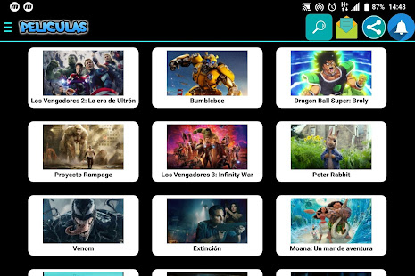 App Películitas HD En Español APK for Windows Phone