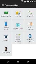 HTC Help Screenshot 3