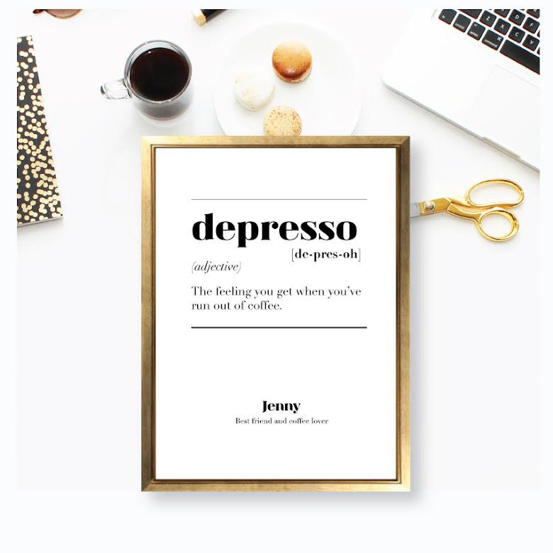 DEPRESSO IS