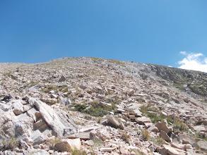 Photo: les Llosers depuis le chemin de descente