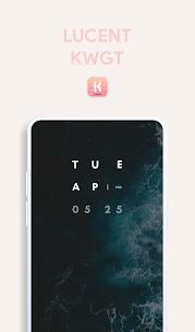 Lucent KWGT – Translucence Based Widgets Paid 3.3 Latest Mod APK Free Download 4