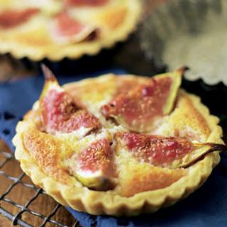 Fig And Frangipane Tarts