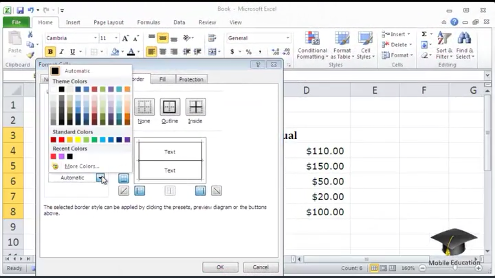 Tutorial Microsoft Excel HD - Android Apps on Google Play