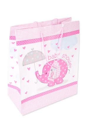 Babyshower kasse, rosa