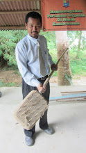 Photo: Weeder in a school at Malaysia.